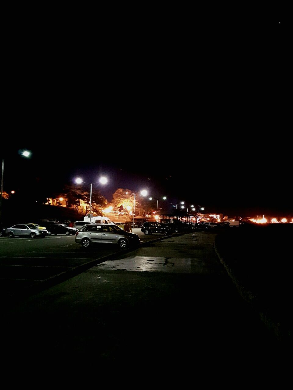 night, illuminated, copy space, car, no people, transportation, outdoors, built structure, road, building exterior, architecture, city, sky