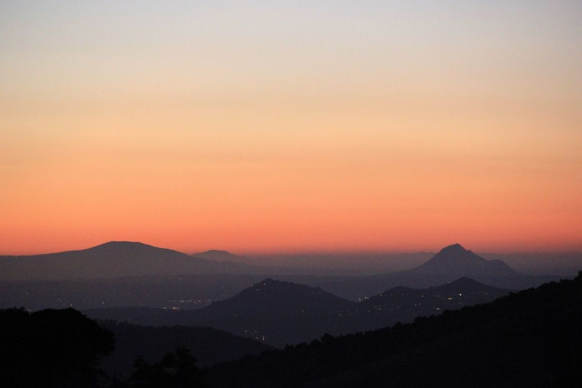 Found On The Roll Moments The Great Outdoors – 2016 EyeEm Awards Landscape Landscapes Sunset Sunset Silhouettes Mountain Mountain Range Canon Italia Italy Rome Italy Canonphotography Italien Roma Rome Remote Lights The Week On EyeEm Tranquil Scene Mysterious Mystic Longing To Go Back... Tranquility