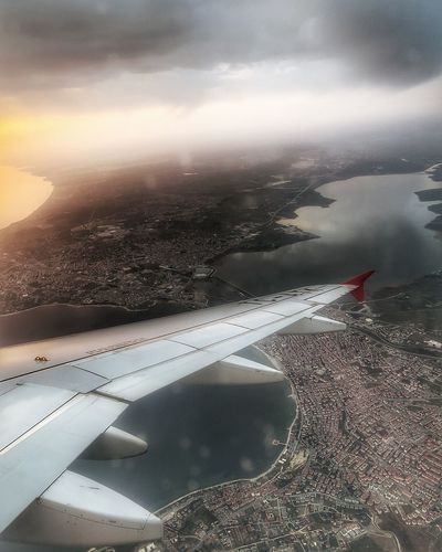 fly high ☺ Flying Airplane Landscape Fly Photography In Motion Istanbul Cityscapes