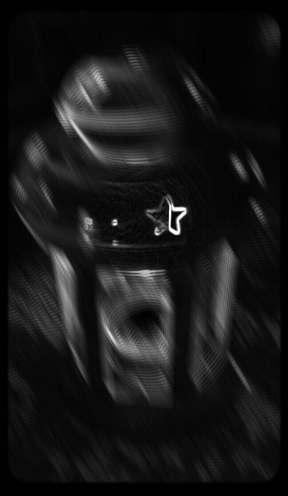 Hello World Dark Light Vivid B/W Photography