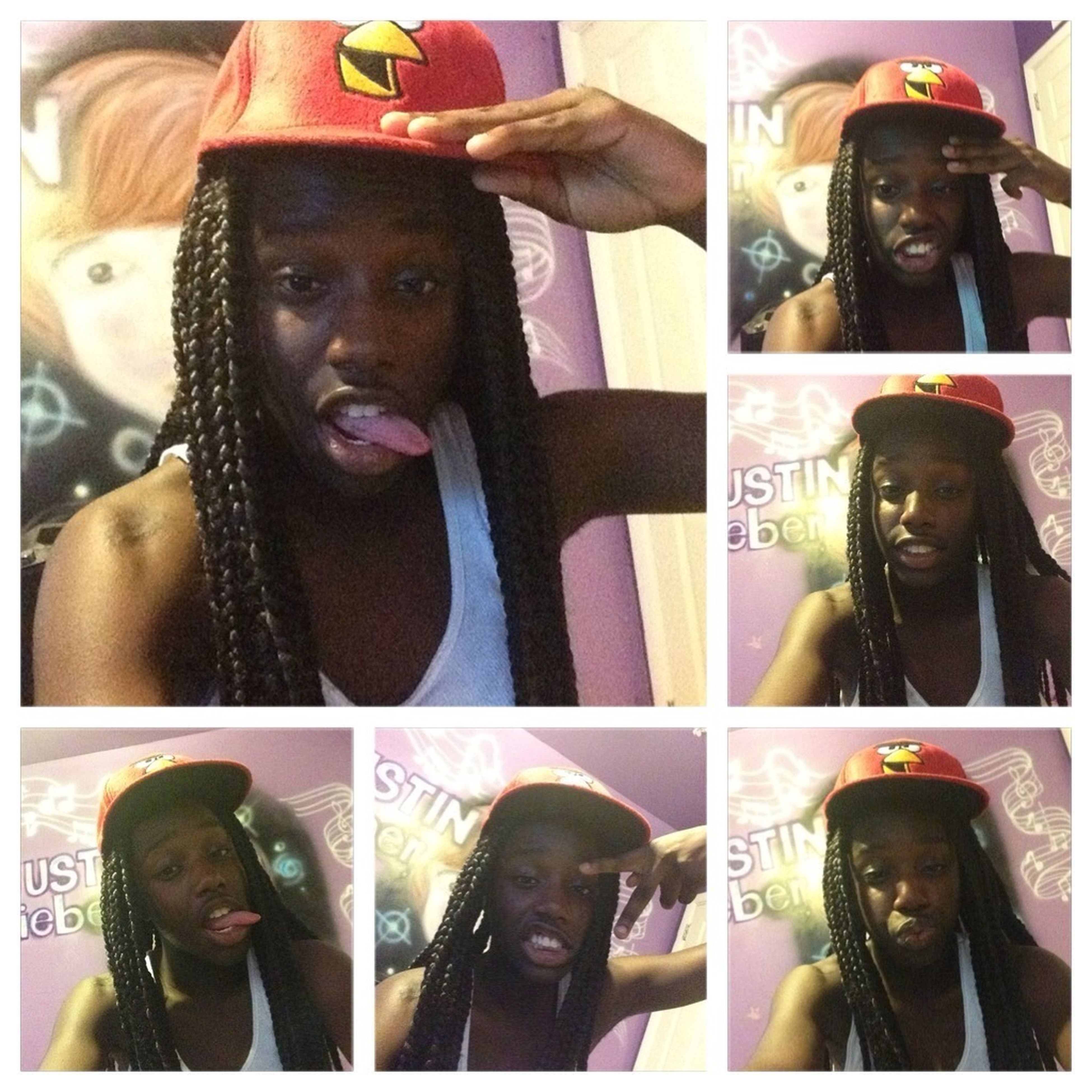 Mee I Think I Look Cute Wit A Hat On ..like Of U Think Soo To N Comment
