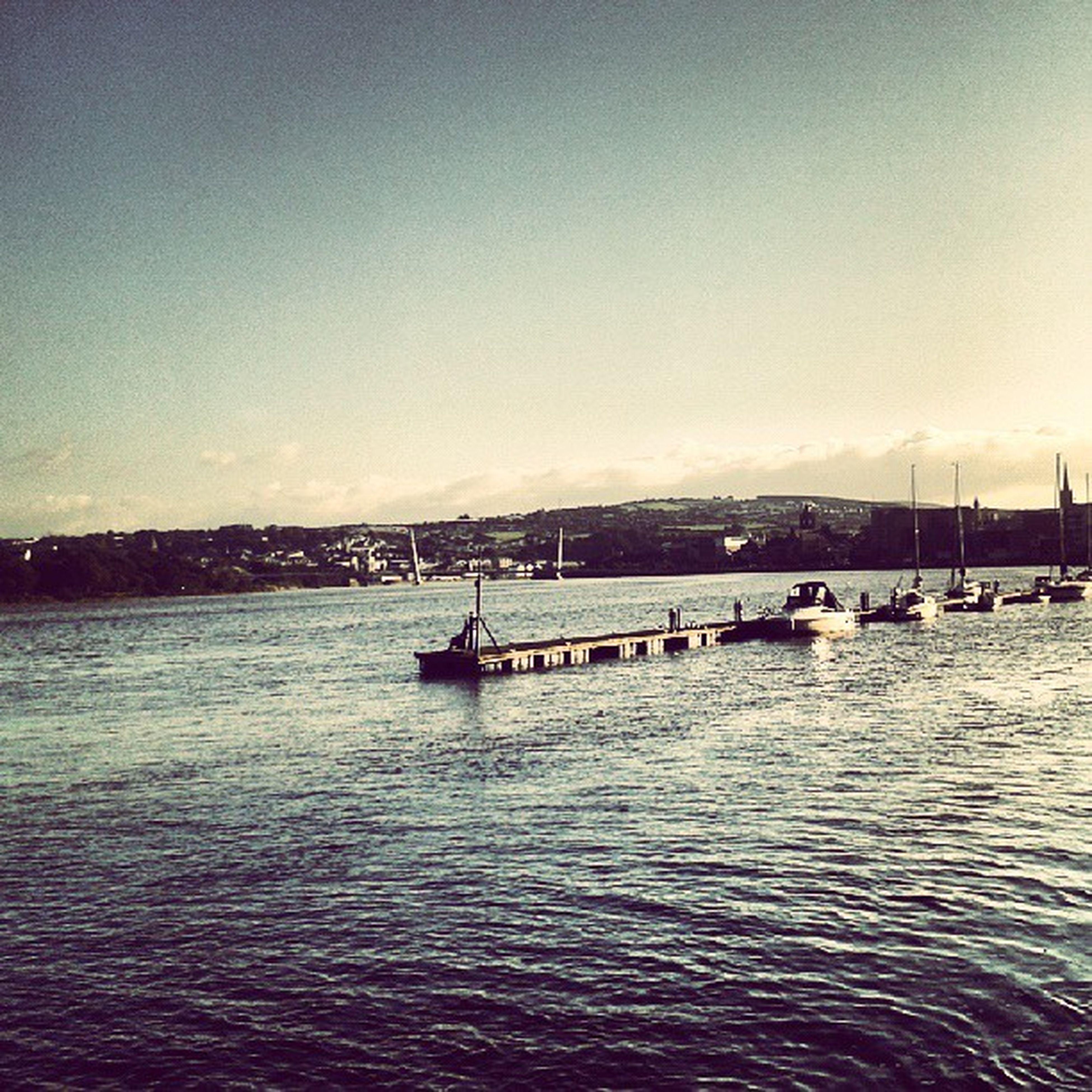 Derry is just so pretty♥ Derry Foyle Peacebridge Beautiful lovederry ireland walkies