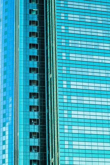 Skyscraper in Astana Astana City Building Building Exterior Building Structure City Futuristic High Rise Building Kazakhstan Skyscraper Structure Tail Turquoise Windows