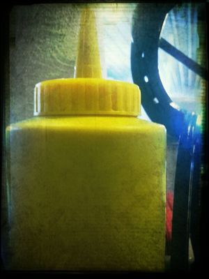 mustard at Sissy's Corner Cafe by Onkel Art