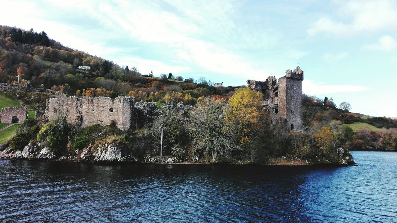 Water Sky Nature Beauty In Nature Loch Ness Loch Ness Monster UrquhartCastle Scotland EyEm New Here