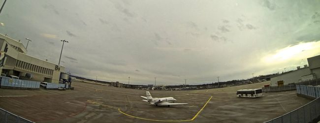A lonely Airplane at the Airport . Gopro Gopro Shots