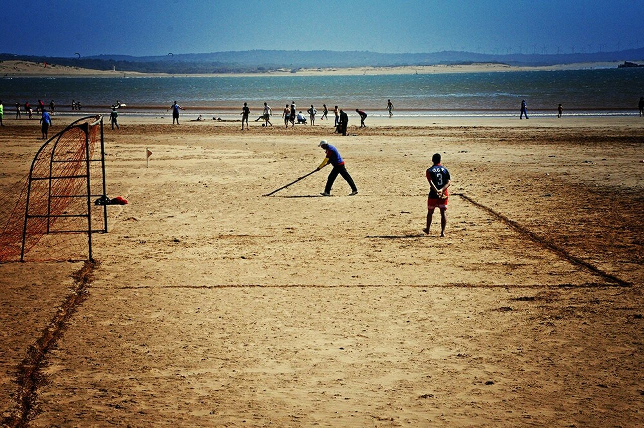 Football Fever Improvised Football Pitch On The Beach Localscene From Where I Stand Local Culture From My Point Of View Football Field On The Sand By The Sea Football Time  Footballislife Football Is Here Football Game Football Life Malephotographerofthemonth Capture The Moment Check This Out - Essaouira Morocco