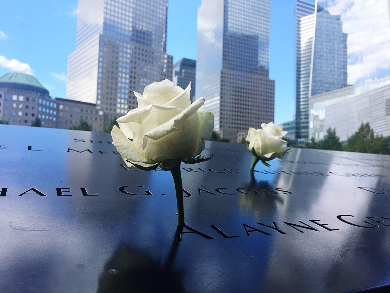 Building Exterior City 911memorial NY City Manhattan USA Helenmillerart People