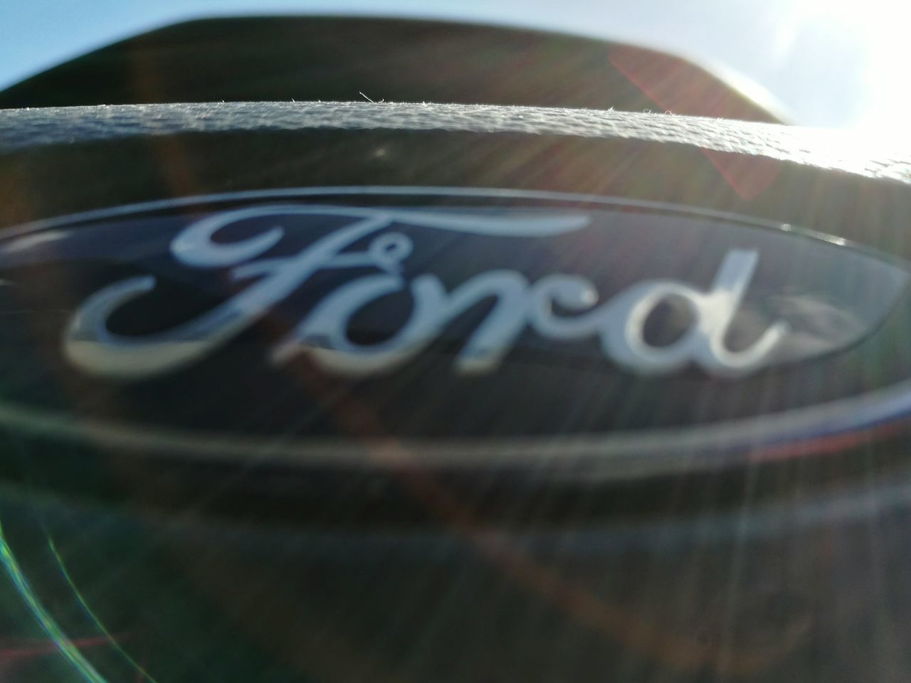 Beautiful light flair, slow shutter speed. Close-up No People Indoors  Day Technology Transportation Car Ford, light flair. Ford Ford Focus Interior