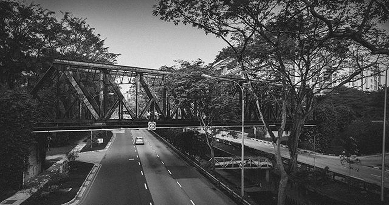 Iconic Bukit Timah Railway Bridge from back in the day Singapore ASIA Landscape Railways Lightroom Bukittimah