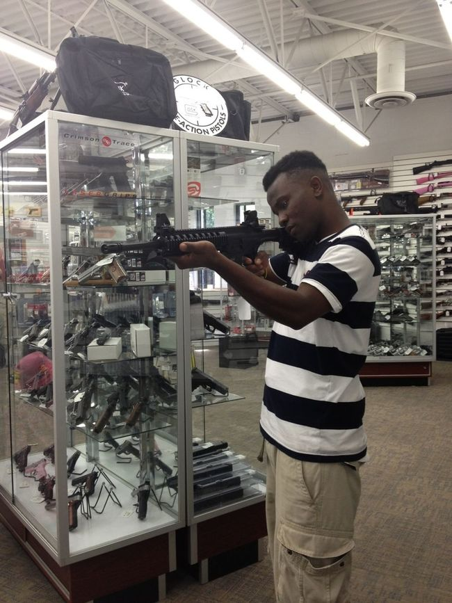 Got The LR22 For Yall Bitch Ass Niggas & Yall Hoes Too