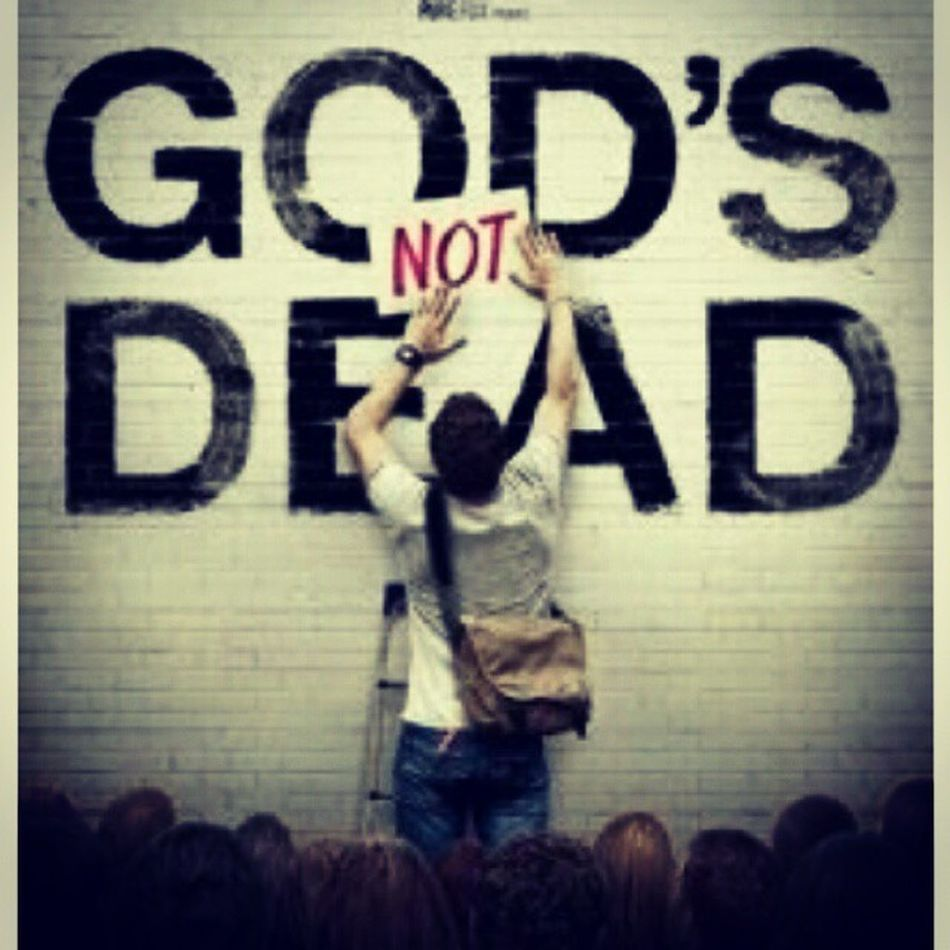 GodIsNotDead Mustwatch StandinyourFaith Believe