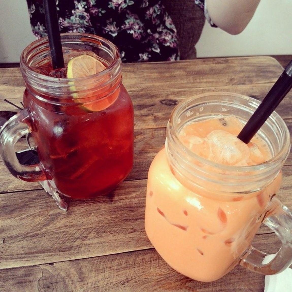 Lại là trà sữa Thái :))) Aroidessert Cafe Nguyễnthiệp Hotsummer
