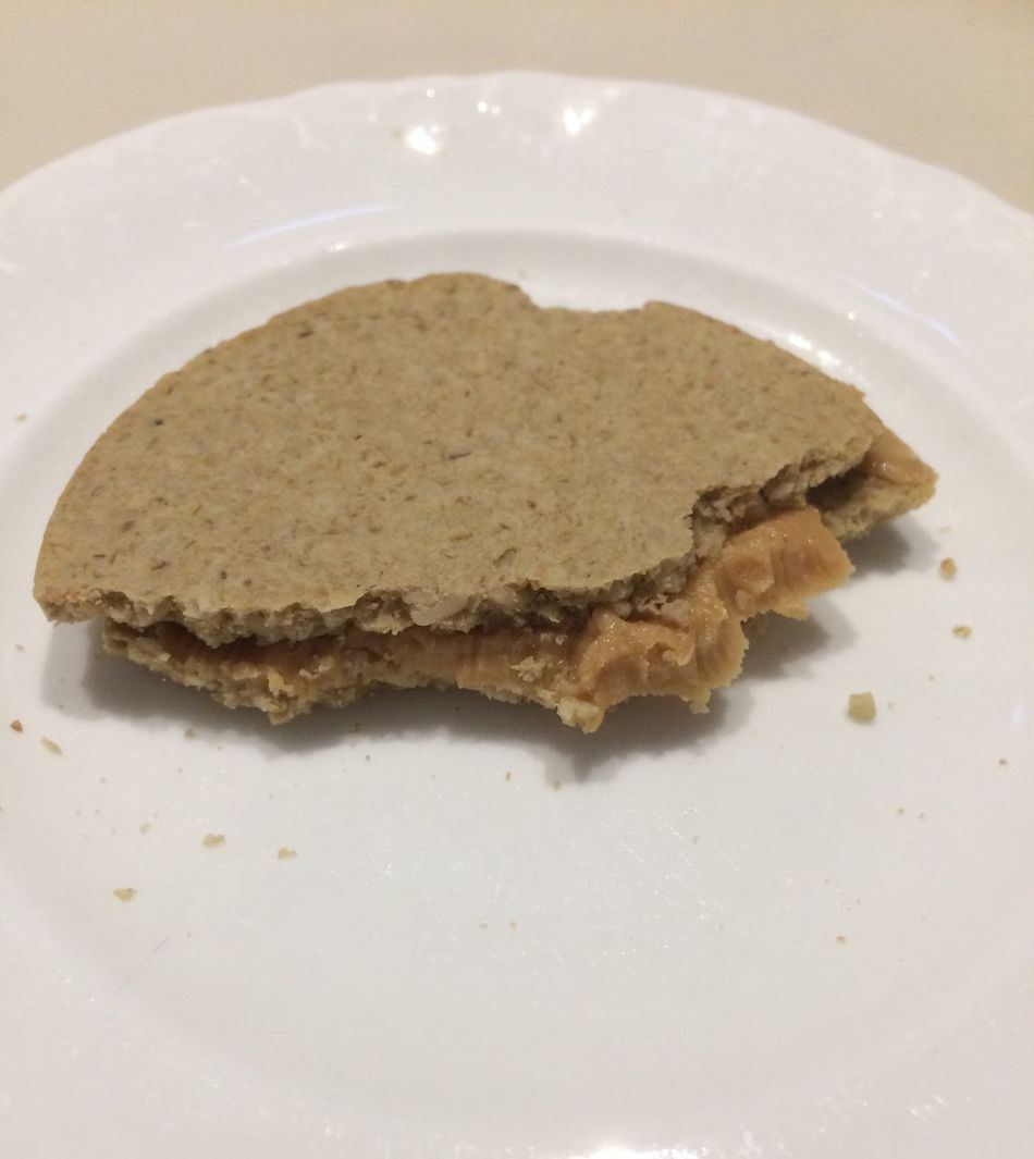 Oatcake Peanutbutter Plate Food And Drink Food Ready-to-eat Close-up Freshness Indoors  No People Day