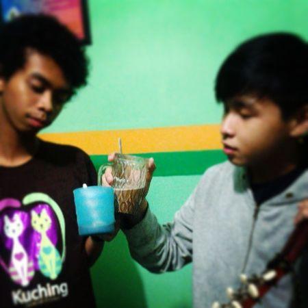 Drunk caused by MILK hahahah,,, we have fun after gen-t service wkwkwk Jefrytambingon Gen