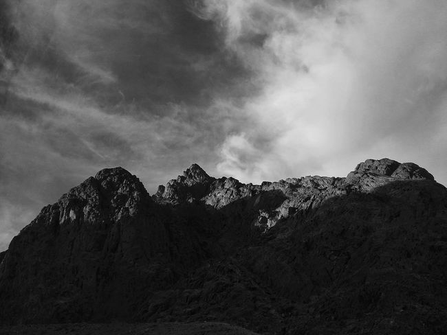 Sinai Mountain #bw1 Shadow Mobilephotography Follow4follow Trip Photo #EyeEmNewHere Mobile Photography #shots #camera #mobile PhonePhotography Phonegraphy Bw Blackandwhite Black And White Sinai Egypt Sinai Egypt Sinaimountain Landscape Mountain Nature No People Sky Outdoors Mountain Range Beauty In Nature Adventure Day