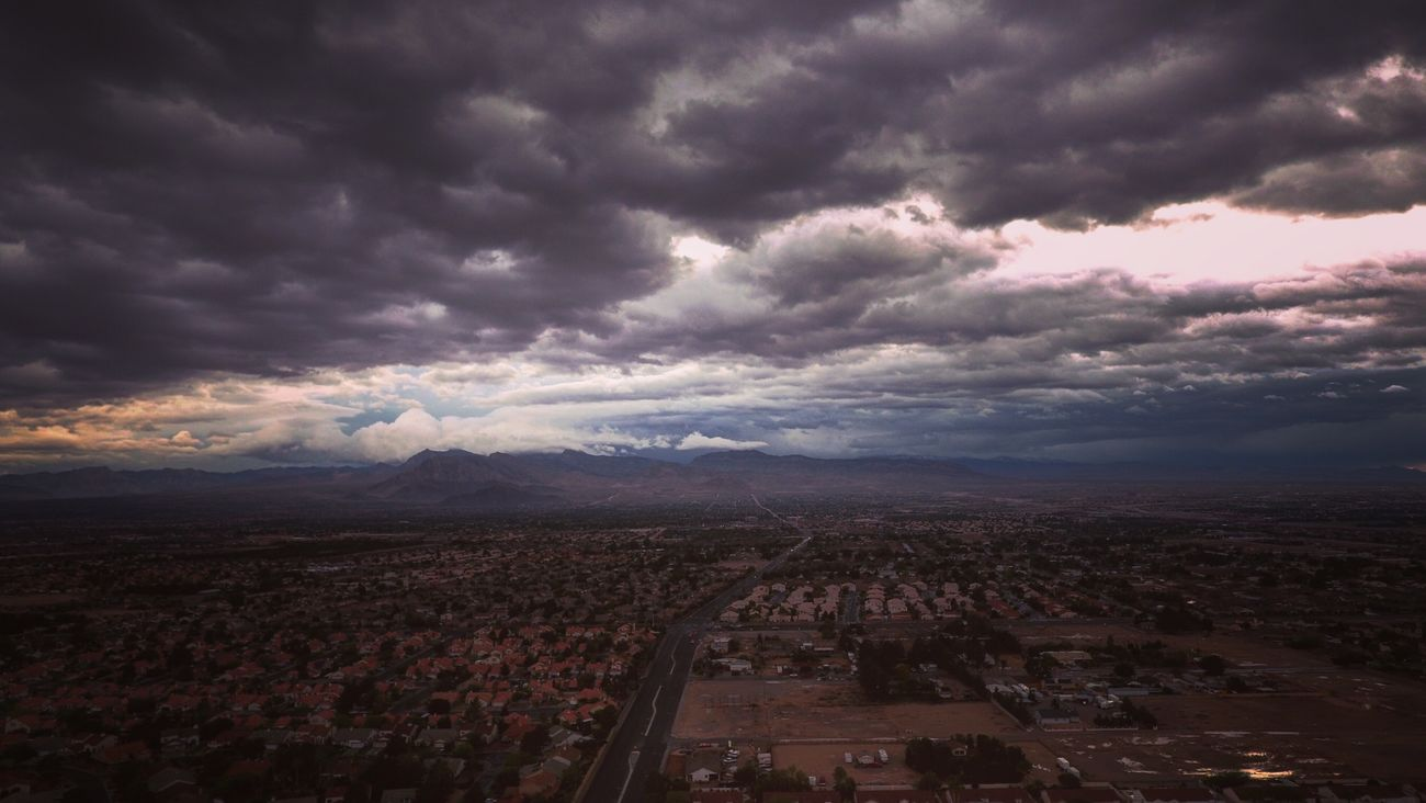 Quick flight before the rain starts up again.... Phantom 4 Vegas  ObsessiveEdits Dronephotography Enjoying The View ¡Eyeem Addict! Dronography Drone  Dronepointofview DJI Phantom 4 Sunset Las Vegas WesternWaYz! Thunderstorm EyeEm Best Shots Enjoying Life Eye4photography