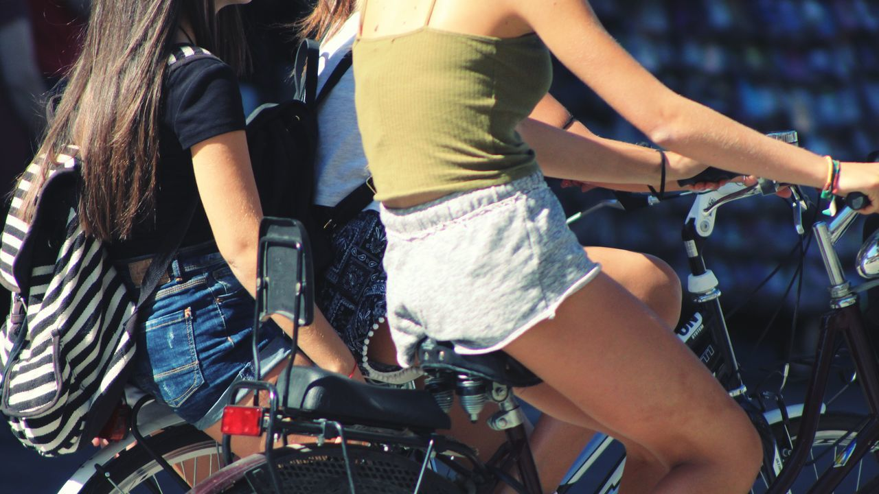 Beautiful stock photos of transport,  Bicycle,  Casual Clothing,  Cropped,  Day
