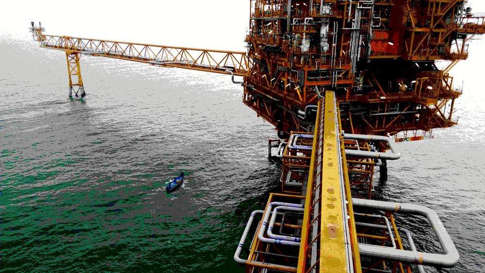 Offshore Platform Oilfield Offshore Life The Architect - 2016 EyeEm Awards