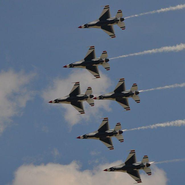 Wow15 Wingsoverwayne USAF Thunderbirds iminlove @afthunderbirds