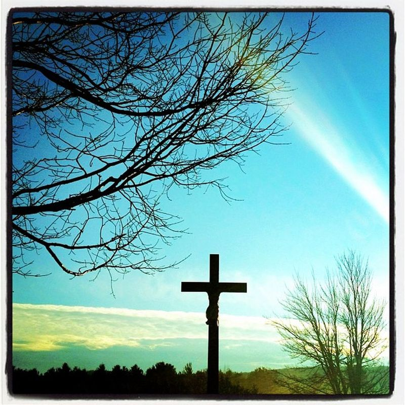 Day of Remembrance! #cross #milton #btv Sunrise Cross Veterans Cemetery Milton 111111 Vt Btv November11