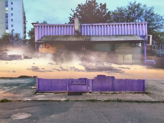 Violet Sky Montage Photography