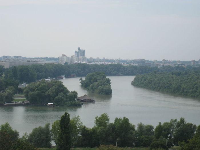 Belgrade,Serbia Cityscape Danube River River View