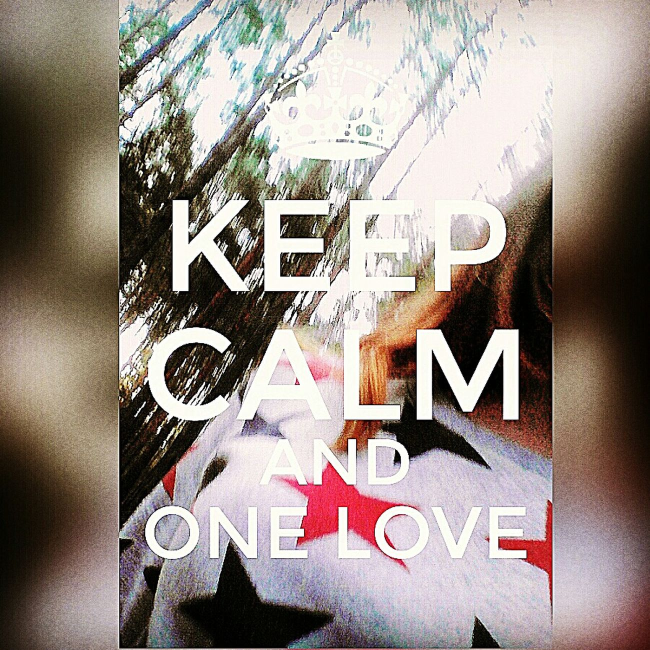 Ceep Calm And ❤ One Love 🌗☝🏼️♊️🌍