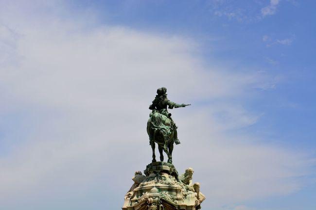 Budapest Budapest, Hungary Ciel Dégagé Europe Nikon D5200 Statue