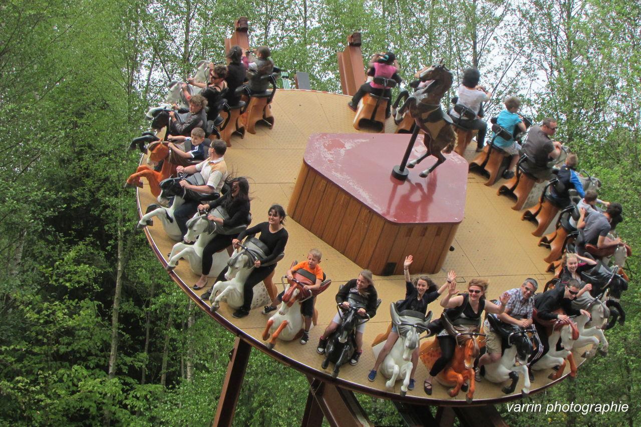 Attraction Enfant Famille Fraispertuis Jeunesse Parc Parc D'attraction Parc D'enfants Spectacle