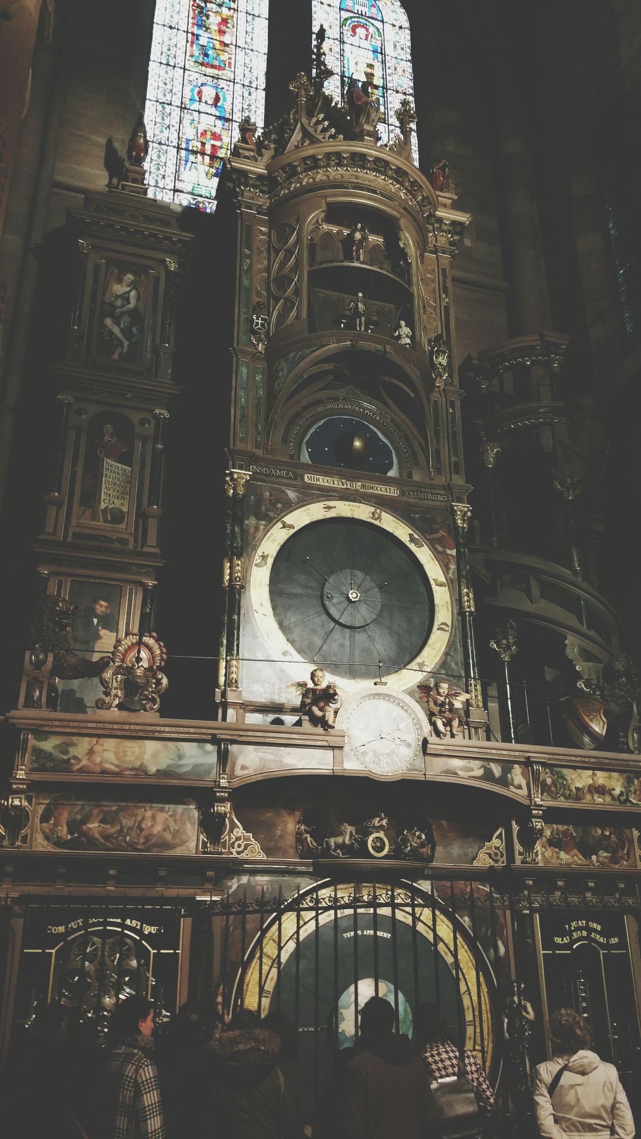 Strasbourg Astronomicalclock Astronomicclock Clock