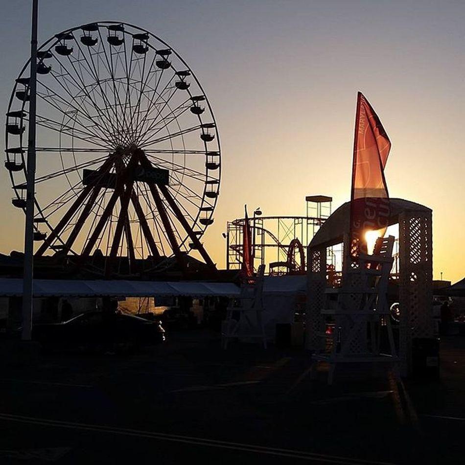 Sunrise at the Komen Race for the Cure.... Oceancitycool OceanCity Maryland Ocmd Onestepcloser