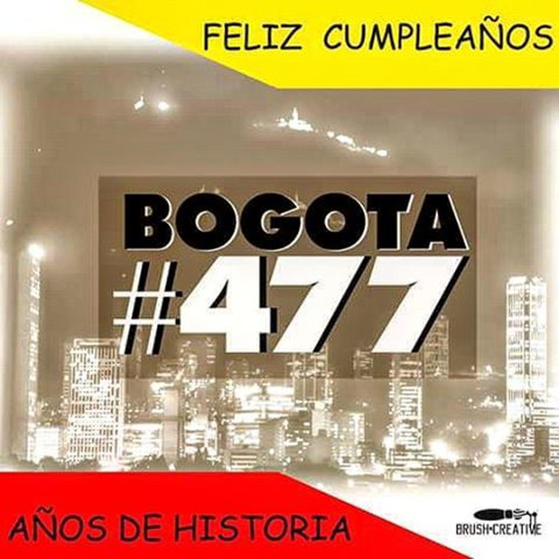 Feliz cumpleaños Bogotá 477 👏🏢🏨🏥⛪🙌🎇🎉🎆🌆🌃 Design by @brushcreative Santafedebogota City Art Picture HappyBirthday History Legendary óleo Creative Music Culture Rolo Cachaco Bogotano Talent Filters Years Graphic Live Yellow Red Sepia