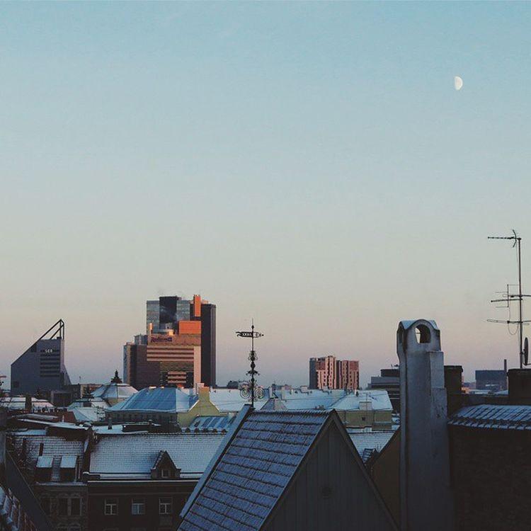 Tallinn Estonia Visittallinn Sky moon vscocam vsco squarepic Doyoutravel vscobest vscoartist vscotallinn sunset