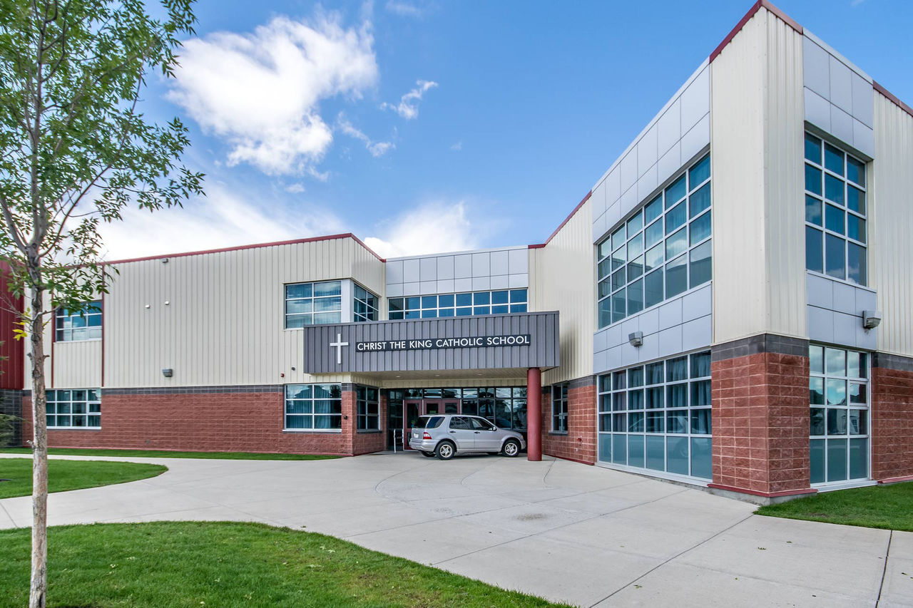 Cranston SE, Calgary, Alberta, Canada Architecture Building Exterior Built Structure Business Business Finance And Industry Day Factory Industry Innovation Metal Industry Modern No People Outdoors Sky Warehouse