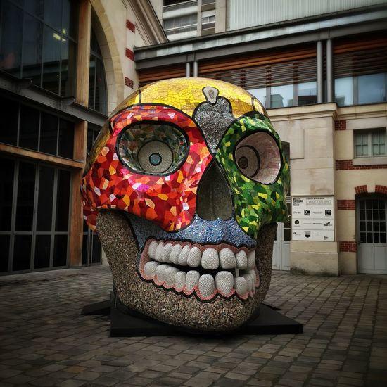 La cabeza Niki De Saint Phalle 104 Art Artist Sculpture