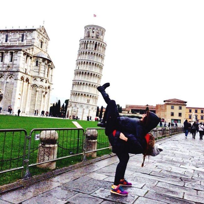 The Tourist Pisa Tower