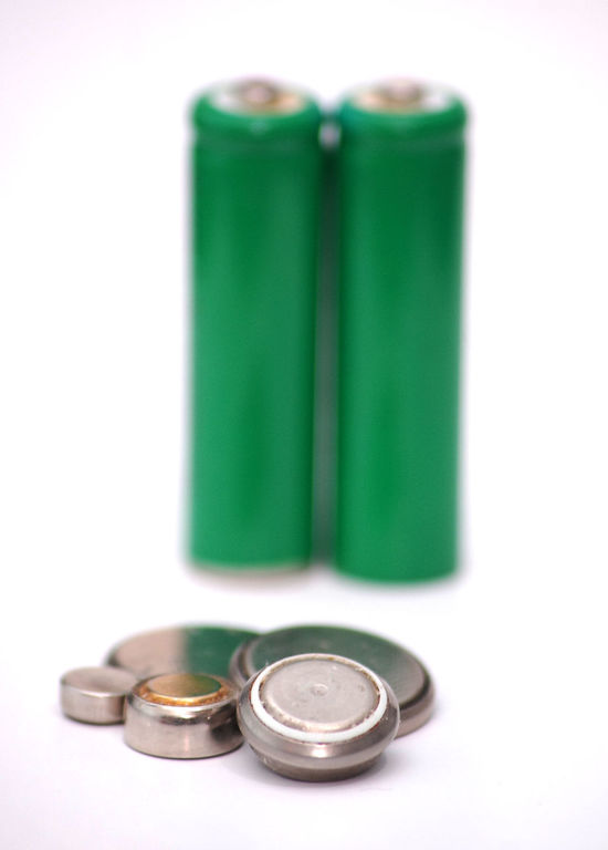 small battery, button battery Battery Button Button Battery Close-up Day Device Electricity  Ni Cd Ni Mh No People Small Battery White Background