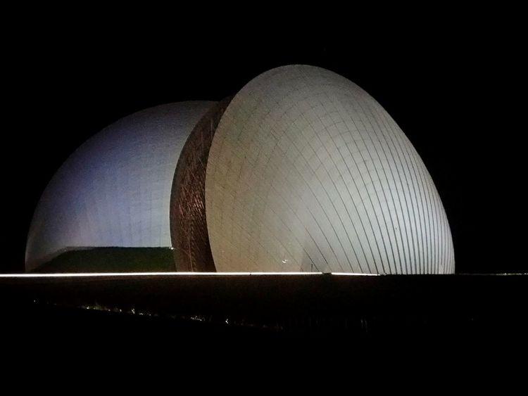 Night Travel Destinations Yelidao Built Structure - 日月貝歌劇院 Zhuhai, China