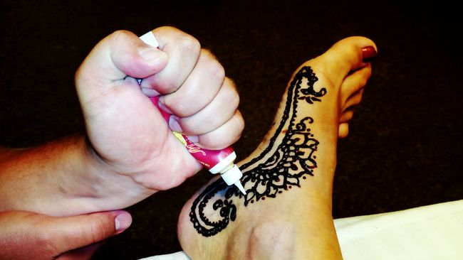 Tailored To You Me And Leg My Wife Mehendi Art Picture Hna Black Sea♥ Sunny☀ Night Handmade Russia Fine Art Photography