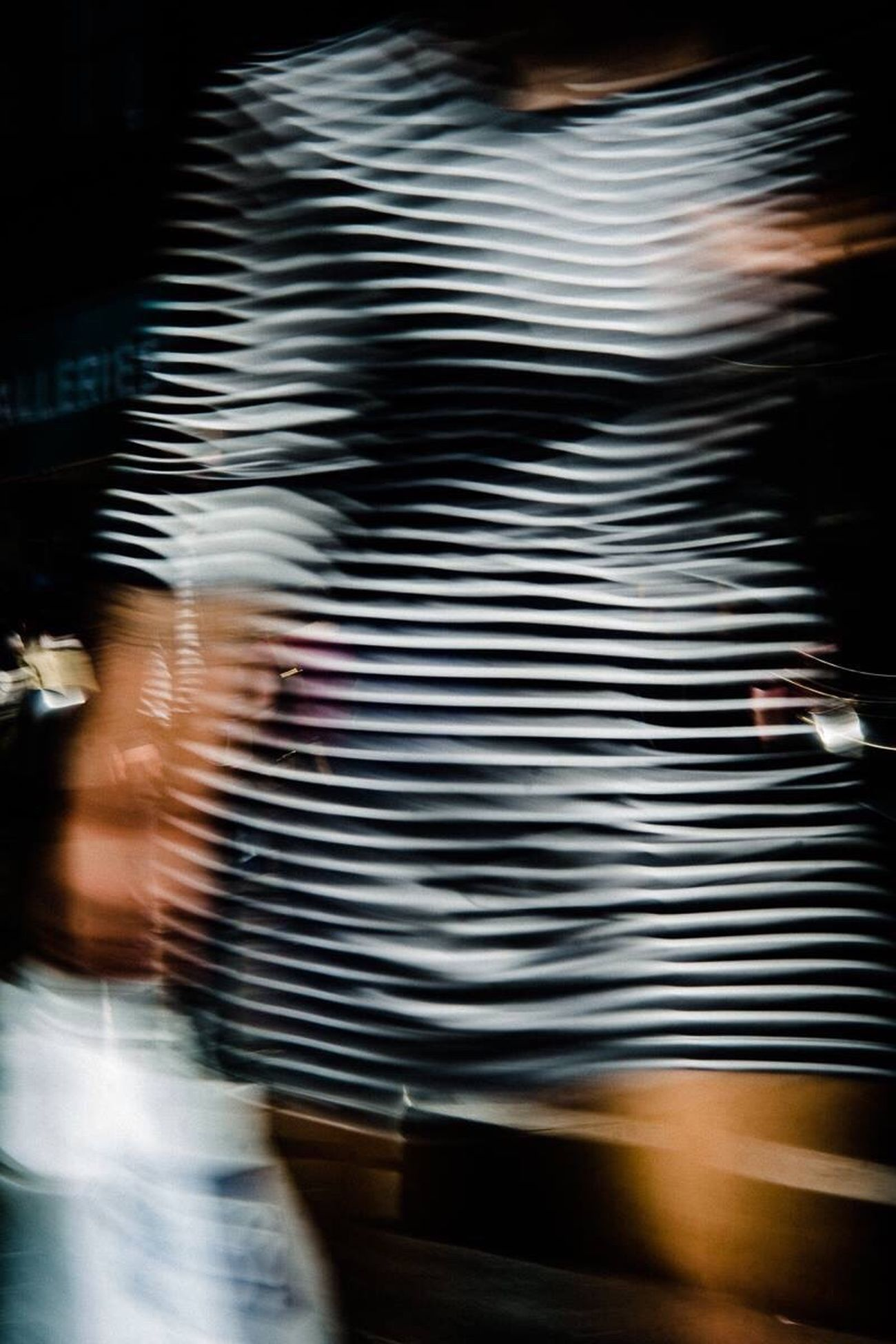 Streetphotography Vibration Woman Walk City Motion Colour City Life Sunny Striped Uniqueness