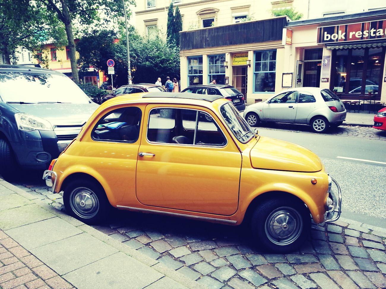 Vintage Cars Fiat500 Fiat