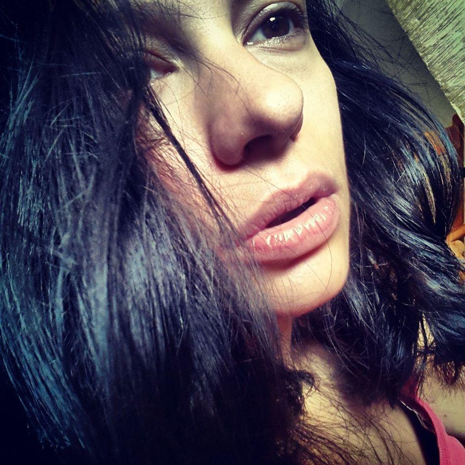 Natural Beauty Selfie Selfportrait