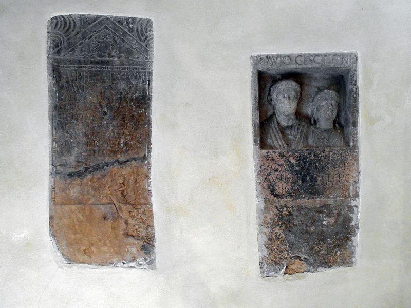 Votive tiles Architecture Built Structure Close-up Italy Larino Molise Saint Votive Tablet