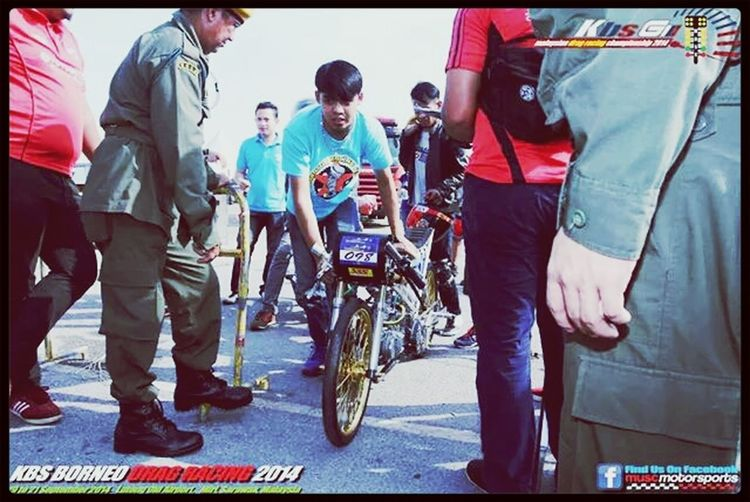 """that's our team no.2 oiiiii!!! >_<"""" Feeling Crazy Jet Dragster That's My Friend Kuching, Sarawak !!!!"""