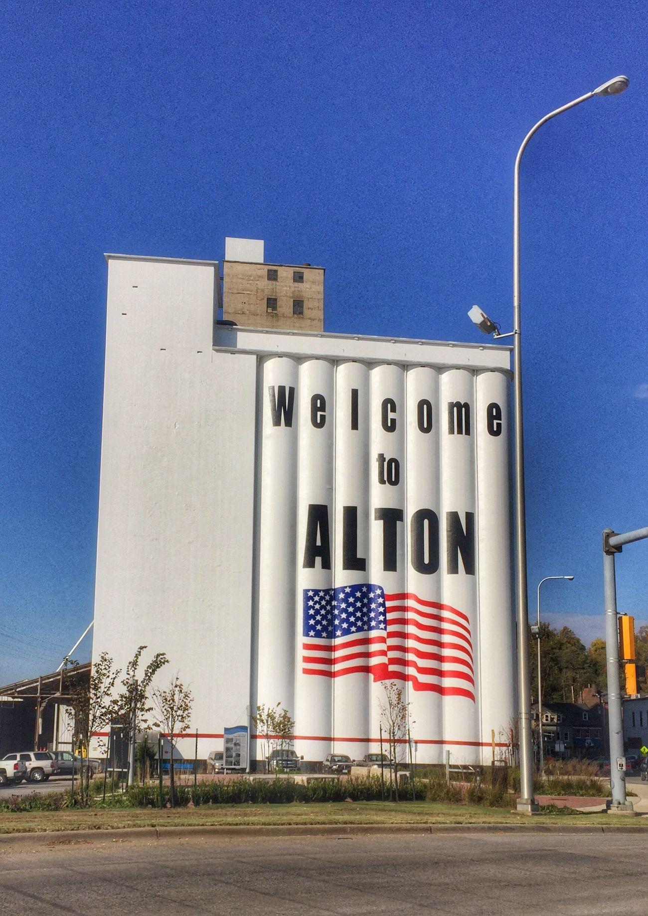 Welcome to Alton Flag Patriotism Illinois Alton Illinois