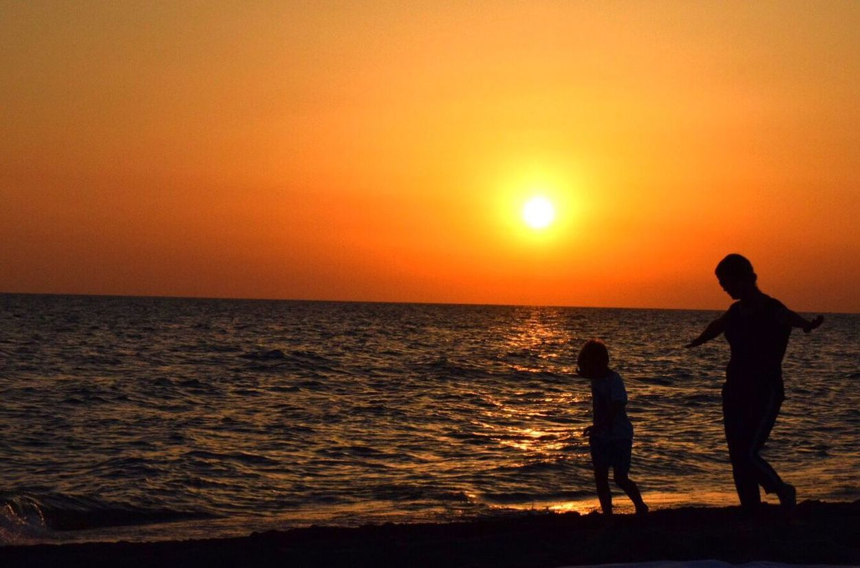 Mum and her Little Son Dancing On the Beach . Family Motherandson  Happiness Sunset Beachphotography Freedom Life Woman Who Inspire You Showcase July Music Ontheway Traveling Darkness And Light Colour Of Life