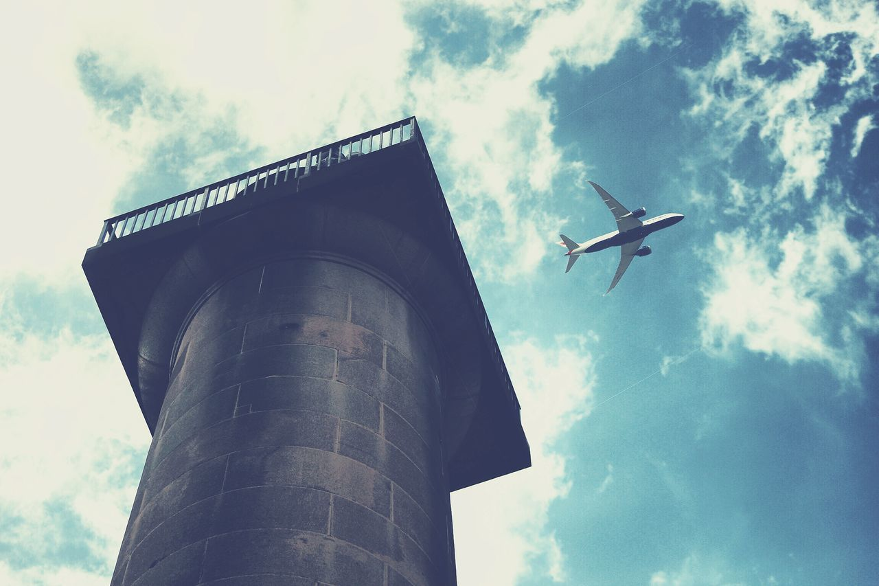 Beautiful stock photos of plane, Air Vehicle, Airplane, Architecture, Building Exterior