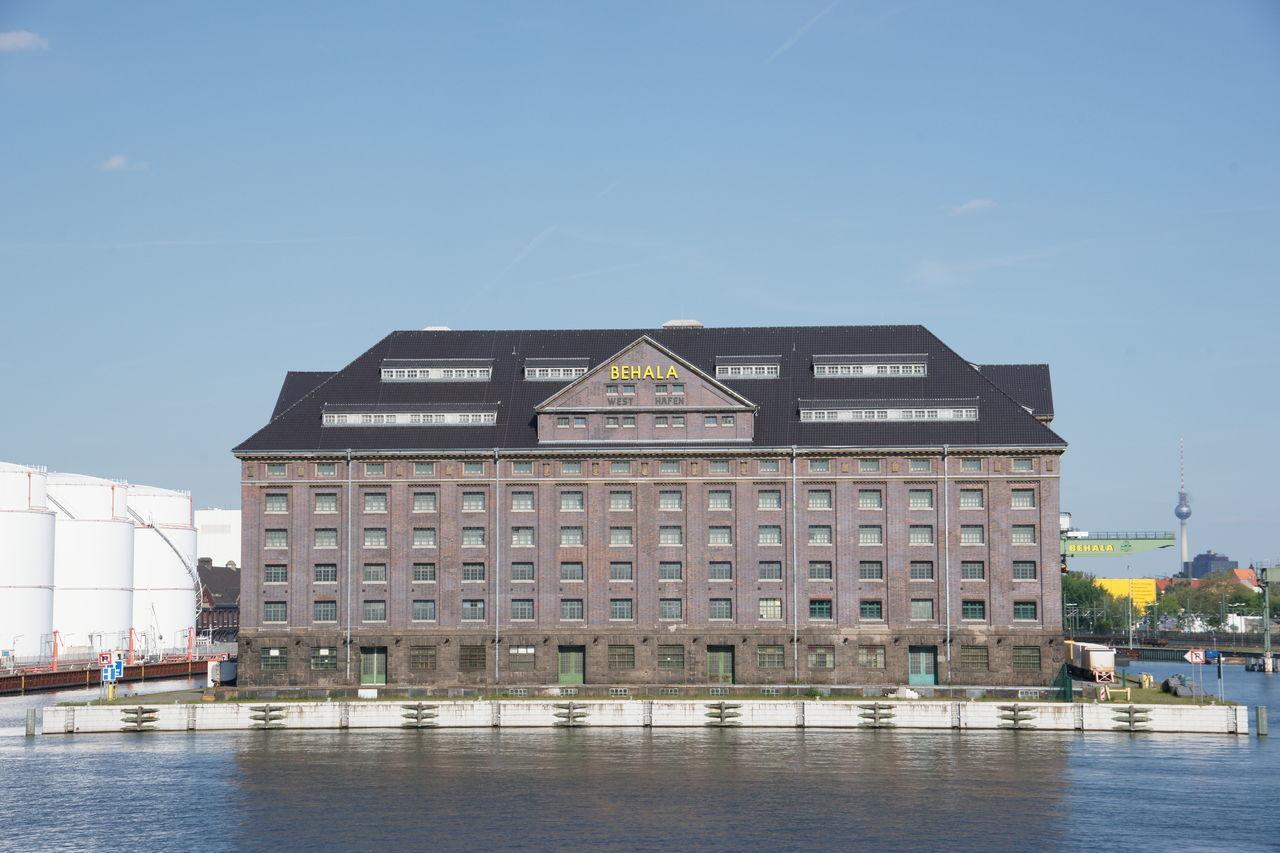 Architecture Architektur Behala Berlin Blue Sky Deutschland Germany Hafen Harbor Harbour Port Westhafen