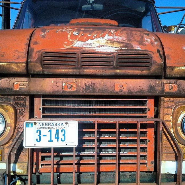 Ford Ford Truck GageCounty Klevelands wrecker Typography rusty rust